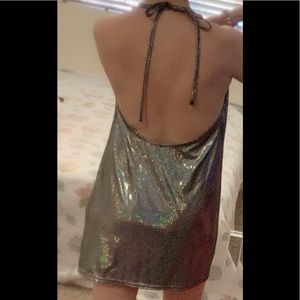 Silence and Noise urban outfitters sparkle dress